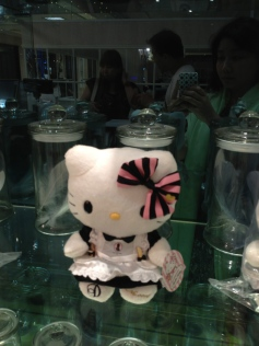 Dazzling cafe hello kitty
